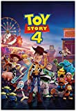 Toy Story 4 Movie Poster 24 x 36 Inches Full Sized Print Unframed Ready for Display