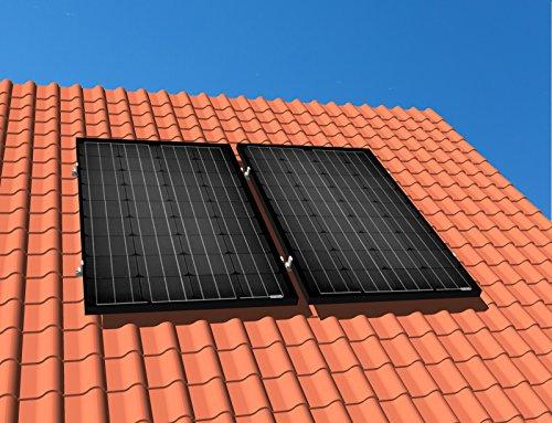 Mini Photovoltaik Anlage 310 Watt Solarstrom erzeugen für Eigenverbrauch Plug & Play PV