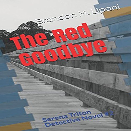The Red Goodbye audiobook cover art