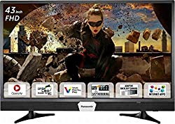 Panasonic 108 cm (43 Inches) Full HD LED Smart TV TH-W43ES48DX (Black) (2017 model)