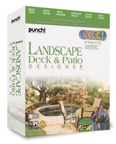 Punch! Landscape, Deck & Patio Designer V12 - Old Version