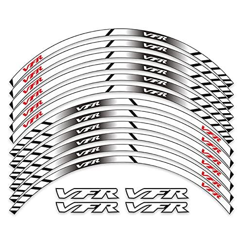 Qwjdsb para Honda VFR 750800 1200X / F 17 Pulgadas, Pegatina de...