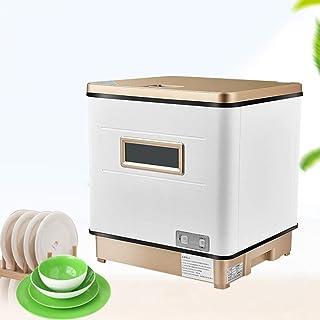 Smart dishwasher XGG Lavavajillas De Encimera Compacto Y PortáTil, Cocina De Apartamentos PequeñOs, Lavavajillas con Rociador 360 ° Calentado Y Desinfectado, 6-8 Cubiertos, Negro / 2000w