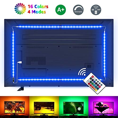 LE LED Strip Lights for TV, 6.56ft RGB Color Changing TV...