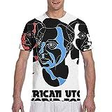 Yang David Byrne American Utopia Tour 2018 - Camiseta de manga corta para hombre, negro, XX-Large