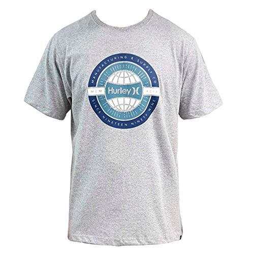 Camiseta Hurley Silk Worldwide Cinza P