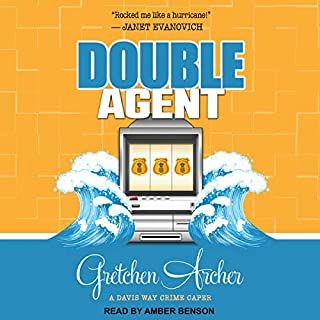 Double Agent audiobook cover art