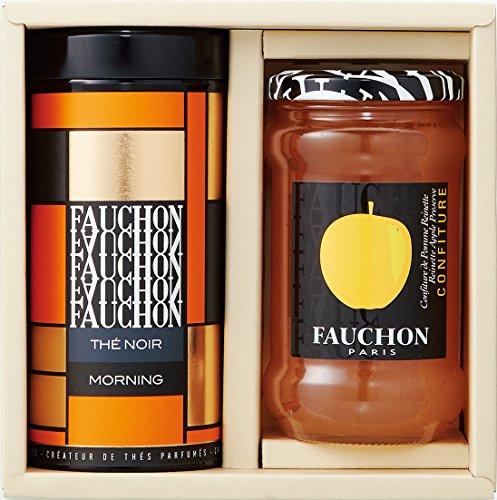 フォション 紅茶・ジャム詰め合わせ FTJ-306(紅茶モーニング120g/アップルジャム365g)