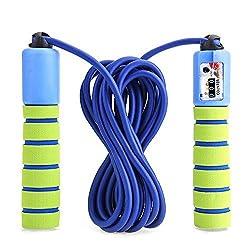 Balala Kinder Springseil Speed Rope mit Zähler Und Komfortablen & Anti-Rutsch Griffen für Fitness und Boxen MMA, Crossfit (Tragebeutel)