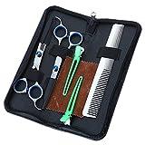 Friseurscheren-Set für Friseursalon, Friseursalon, Friseurschere oder zu Hause, leicht und scharf