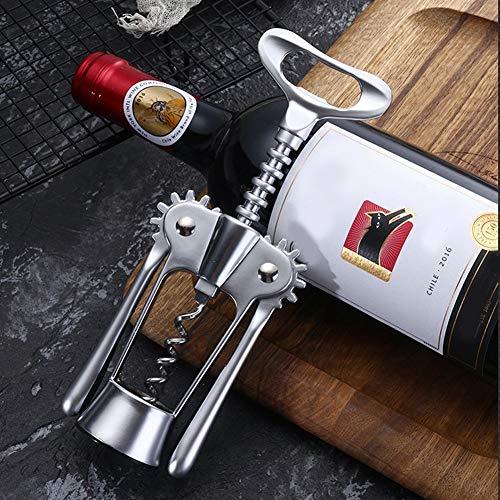 Parluna Abridor de Vino Multifuncional, sacacorchos de Vino Duradero Resistente a la corrosión, para Bodas, Eventos, Fiestas