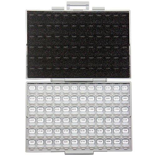 AideTek 0603 Size 72 Values 100pc/v E96 1% Resistor kit 0 10MΩ RoHS Box-All