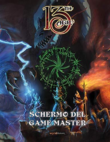 Asmodee - 13TH Age SCHERMO del Game Master - Italiano