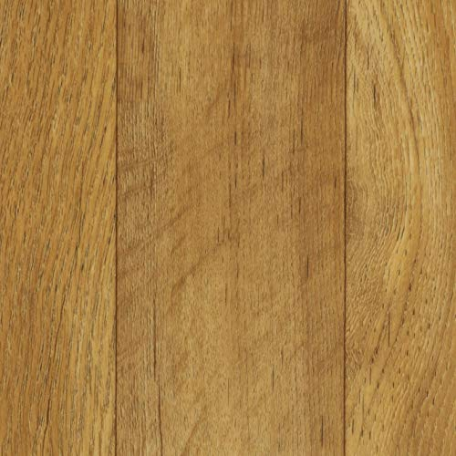 TAPETENSPEZI PVC Bodenbelag Eiche Dunkel | Vinylboden als Muster | Fußbodenheizung geeignet | Vinyl Planken strapazierfähig & pflegeleicht | Fußbodenbelag für Gewerbe und Wohnbereich