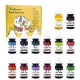 Food Coloring-14 Color Variety Kit-cake food...