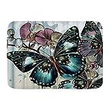 Fußmatten, Schmetterlingsblume Gemustert,...