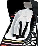 Peg-Pérego Kit Baby Cushion - Cojín reductor acolchado para trona, color blanco
