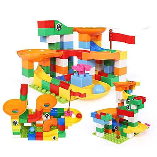 NHK-MX Multifunción Bloques el plastico Juguetes de Montaje de Diapositivas para niños y niñas Juguetes de Construcción de Castillos (Size : 264pcs)