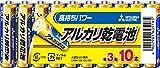三菱電機 アルカリ乾電池 単3形 10本パック LR6N/10S
