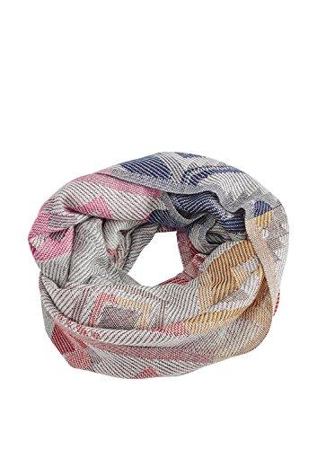 s.Oliver Damen 39710914918 Schal, Rosa (Purple/Pink Placed Print 44D1), One Size