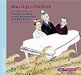 Aus dem Leben von George Gershwin, Sergej Rachmaninow und Béla Bartók