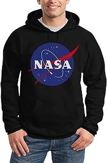 NASA Logo Galaxy Streetwear Outfit Felpa con Cappuccio da Uomo
