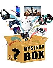 Mystery objekt, lyckliga lådor objekt inkluderar dekorationer, elektronik, leksaker, hushållsartiklar, fitness, sport och utomhusprodukter för vuxna barn