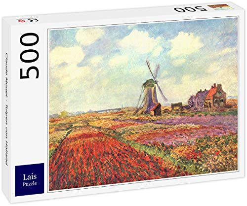 Lais Puzzle Claude Monet - Tulipani d'Olanda 500 Pezzi