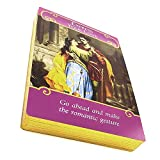 The Romance Angels Tarot Oracle Cards Deck | The 44 Angel Angel Oracle Cards Por Doreen Virtue Raro Fuera De Impresión, Nueva Serie Chapada En Oro, Claridad Sobre Las Relaciones De Alma Gemela