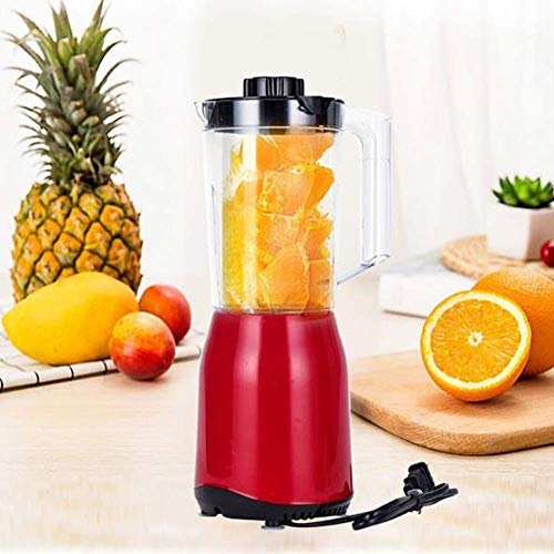 SHKUU Licuadora eléctrica, licuadora, licuadora Frutas y Verduras, procesador Alimentos para el hogar, licuadora Multifuncional, trituradora Hielo automática 250 vatios