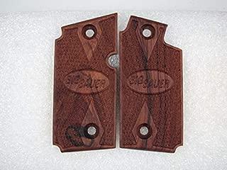 Handmade Handgun Grips, Rosewood to fit a Sig Sauer P238