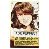 L Oréal Paris Excellence Age Perfect Crema Colore Effetto Rivitalizzante, 5.03 Castano Dorato