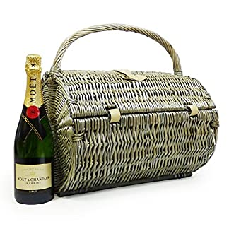 Traditioneller-Harrington-Picknickkorb-Fr-2-Personen-Mit-Moet-et-Chandon-Champagner-Ideale-Geschenkidee-zum-Geburtstag-Hochzeit-Ruhestand