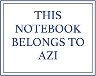 This Notebook Belongs to Azi