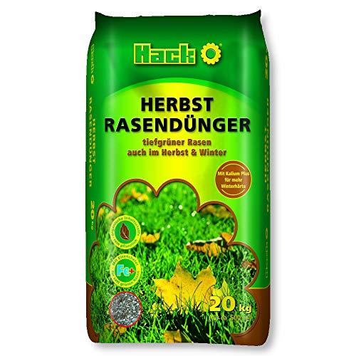 HACK Rasendünger Herbst 20 kg Langzeitwirkung Winterhärte