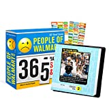 People of Walmart 2021 Calendar, Box Edition Bundle - Deluxe 2021 People of Walmart Day-at-a-Time Box Calendar with Over 100 Calendar Stickers