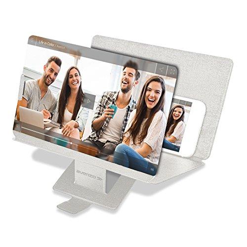 Avenzo Ampliador de Pantalla 3D 8.3, Plata