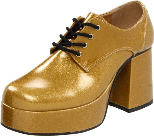 Pleaser JAZZ-02G, Herren Oxfords, Gold, 44 EU (11/12 UK)