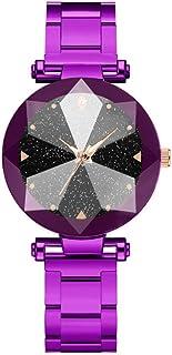 wall clock, Women's Wrist Watches Ladies Series Girls Watch Female for Women Gypsophila Watch with Diamonds Quartz Steel S...