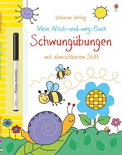 Mein Wisch-und-weg-Buch: Schwungübungen: mit abwischbarem Stift