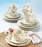 Seltmann Weiden 001.716502 Kaffeeservice 18-teilig Marieluise Blütenmeer - 2