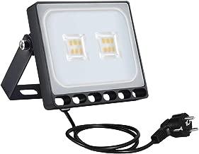 /Ø50cm LED L/ámpara de Techo Blanco C/álido 2800K-3200K Moderna LED Plaf/ón para Ba/ño Dormitorio Cocina Sala de Estar Comedor Balc/ón Pasillo 4800LM Bellanny Luz de Techo LED 48W
