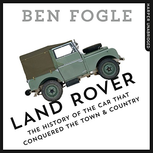 Land Rover audiobook cover art