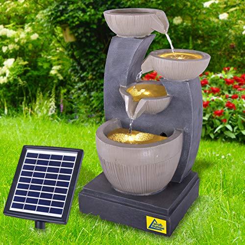 profi-pumpe.de -   Solar Gartenbrunnen