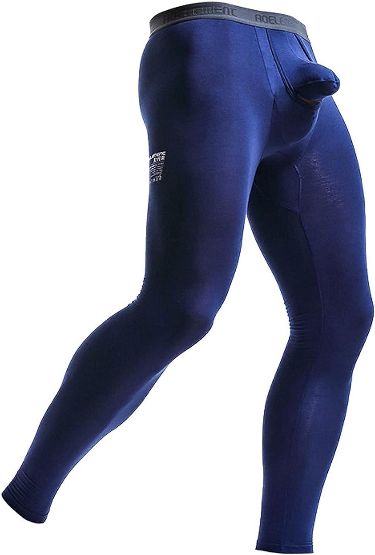 Men's Thermal Underwear for Men,Base Layer Fleece Lined Top Bottom