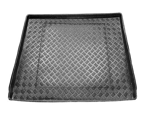 Protector Maletero PVC Compatible con Ford S-MAX Version 7 Plazas (3º Fila de Asientos Tumbada) (2006-2015) + Regalo | Alfombrilla Maletero Coche Accesorios | Ideal para Perro Mascotas