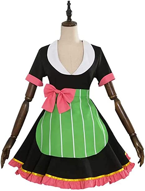 Amazon Co Jp Demon Blade Maid Clothing Maid Clothing Kanroji Mitsuri Cosplay Costume Disguise Halloween Events Party Mangyu Exhibition Festivals Cultural Festivals School Festivals Photography Unisex Cosplay Custom Made X Large Hobby Check out our mitsuri kanroji selection for the very best in unique or custom, handmade pieces from our prints shops. www amazon co jp