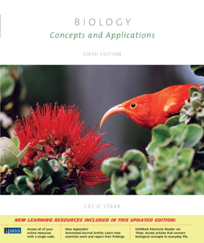 Biology Concepts And Applications With Cd Rom Cover Sheet Audio Book Pac Essential Study Skills And Biologynow