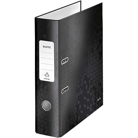 Leitz 45631095 Solid Eckspannermappe PP A4 schwarz 2-Pack