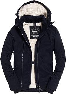 Womens Boxy Snorkle Hooded SD-Wind Parka Jacket Super Dark Navy